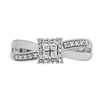 Cherish Always 10k White Gold 1/5-ct. T.W.