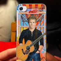 Hunter Hayes with guitar art  iPhone Case And Samsung Galaxy Case