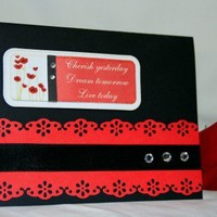Handmade Card - Birthday, Anniversary, Wedding, Congratulations, Graduation | foreversmemories - Cards on ArtFire