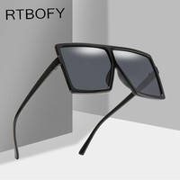 RTBOFY Oversized Square Sunglasses Women Retro Brand Designer Gradient Sun Glasses Men Vintage Shades Eyewear Big Frame Glasses