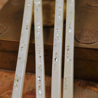 Vintage Mother of Pearl Inlay Chopsticks ~ 2 Sets ~ Free Shipping
