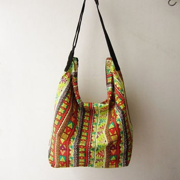 hobo bag,hippie crossbody ,hobo messenger bag,tribal crossbody purse,crossbody bag women, bohemian bag, aztec bag