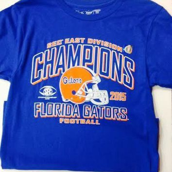 DCCKG8Q NCAA Florida Gators SEC East Division Champion T-Shirt