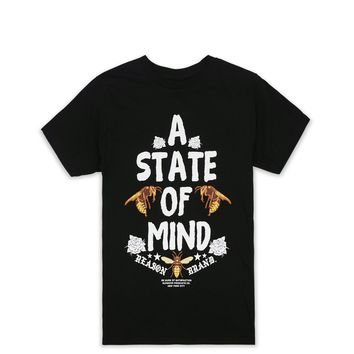 STATE OF MIND TEE-BLACK