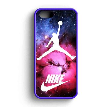 Nike Jordan Basketball Nebula iPhone 5 Case iPhone 5s Case iPhone 5c Case