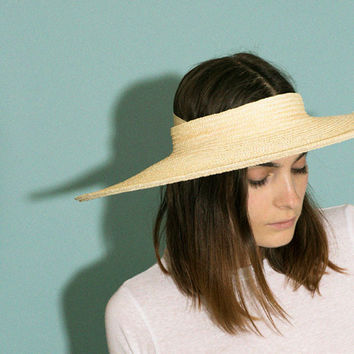 Creatures of Comfort - Natural Cartwheel Hat | BONA DRAG