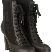 Hove Lace Up Boots