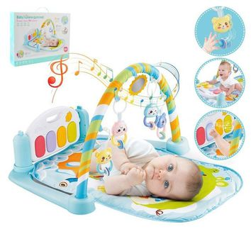 Baby Play Mat Kids Rug Educational Puzzle Carpet With Piano Keyboard And Cute Animal Playmat Baby Gym  for 0-36 months