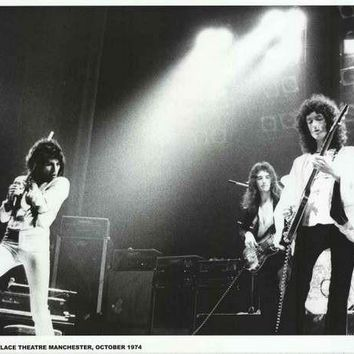Queen Palace Theater Manchester 1974 Poster 24x33