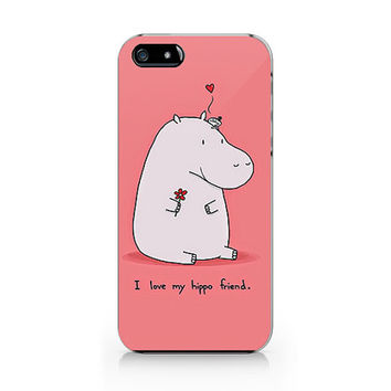 Q-028 hippo Iphone4/4s, iphone5/5s/5c, ip6, samsung s3/s4/s5/note3 case
