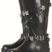 DARCY Stud Wrap Strap Wellies - Boots  - Shoes