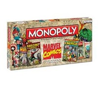 Monopoly® - Marvel Comics Collector's Edition by USAopoly, Family Games at AreYouGame.com