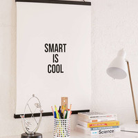 Cult Paper Smart Is Cool Art Print - Urban Outfitters