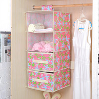 Fashion Drawer Hanging Organizers Clothing Closet Wardrobe Container Holder Home Storage Accessories Supplies Gear Stuff Product