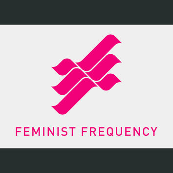 Feminist Frequency Logo Sticker