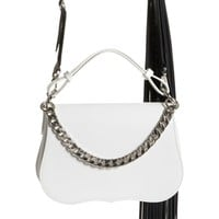 Calvin Klein 205W39NYC Small Leather Shoulder Bag | Nordstrom