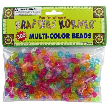 Multi-Color Crafting Pony Beads ( Case of 96 )