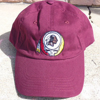 Steal Your Redskins Grateful Dead Style Maroon Baseball Cap Hat