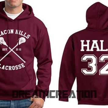 HALE 32 Beacon Hills 32 Number Lacrosse Wolf Teen Unisex Hoodie - Tumblr Text - Part 1