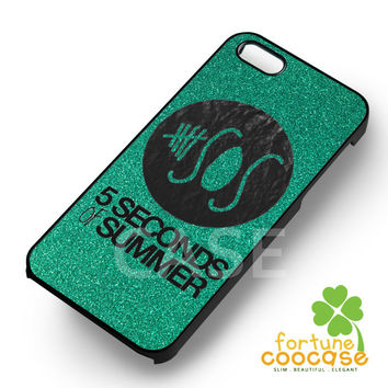 Glitter 5sos logo - 21z for  iPhone 4/4S/5/5S/5C/6/6+s,Samsung S3/S4/S5/S6 Regular/S6 Edge,Samsung Note 3/4