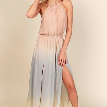 I'm Sure-bert Maxi Dress Blush/Sage