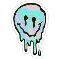 Slimy Smile Sticker