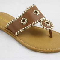 Jack Inspired Sandals - Brown