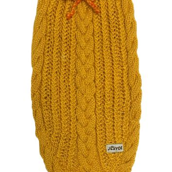Mustard Hand-knitted Jumper