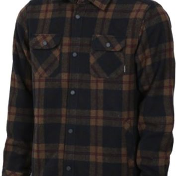 Nixon Corporal Wool Jacket - navy plaid - Free Shipping