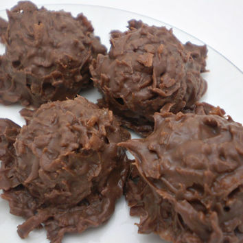 Peanut Butter Milk Chocolate Coconut Cluster Haystacks - 2 Individual 4 oz bags