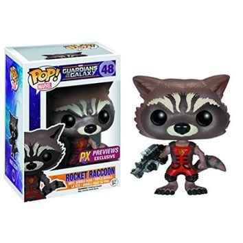 GotG Rocket Raccoon Ravagers Pop! Vinyl Bobble Figure