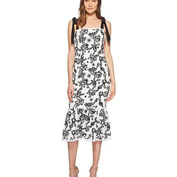 Rachel Zoe Lily Embroidered Midi Dress