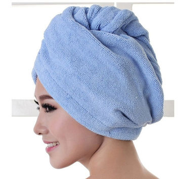 2015 New Fashion Microfiber Bath Towel Hair Dry Quick Drying Lady Bath towel = 1714517444
