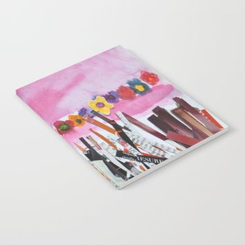 FLOWERS STiLL GROW Notebook by Azima