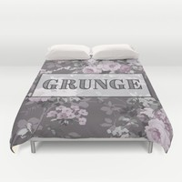 Grunge Duvet Cover by KJ Designs