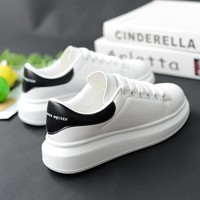 Women Platform Off White High Quality Casual Sneakers