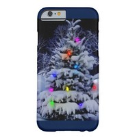 White Christmas Barely There iPhone 6 Case