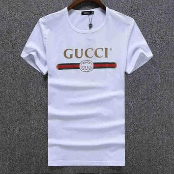 1438bb2e2177 Trendsetter GUCCI Women Man Fashion Print Sport Shirt Top Tee