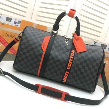 Kuyou Lv Louis Vuitton Gb29624 Keepall Bandouli¨¨re 50