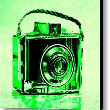 Green Baby Brownie Special Canvas Print