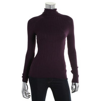 INC Womens Ribbed Knit Long Sleeves Pullover Sweater