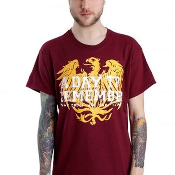 A Day To Remember - Friends Maroon - T-Shirt