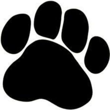 Paw Print Dog  Vinyl Car/Laptop/Window/Wall Decal