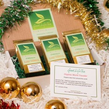 Organic World Traveler Holiday Tea Gift Set