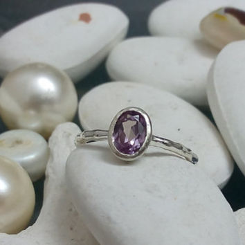 SALE! Oval Alexandrit ring,Silver ring,June birthstone,gemstone ring,delicate ring,sterling silver,birthstone ring