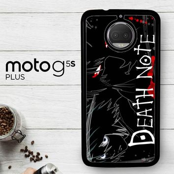 Death Note Anime Z0463  Motorola Moto G5S Plus Case