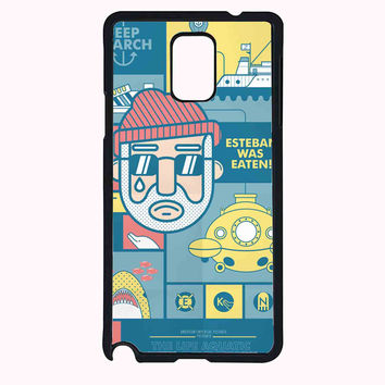 The Life Aquatic with Steve Zissou FOR SAMSUNG GALAXY NOTE 4 CASE**AP*