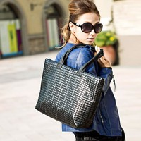 New Women Lady Stylish Handbag Shoulder Bag Large Capacity Handbag