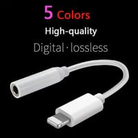 Digital Lossless for Lightning To 3.5mm IPhone 7 Plus Earphone Headphone Jack AUX Connector Adapter Cable Headset Converter Cord