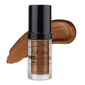 Pro Coverage Illuminating Foundation-Coffee